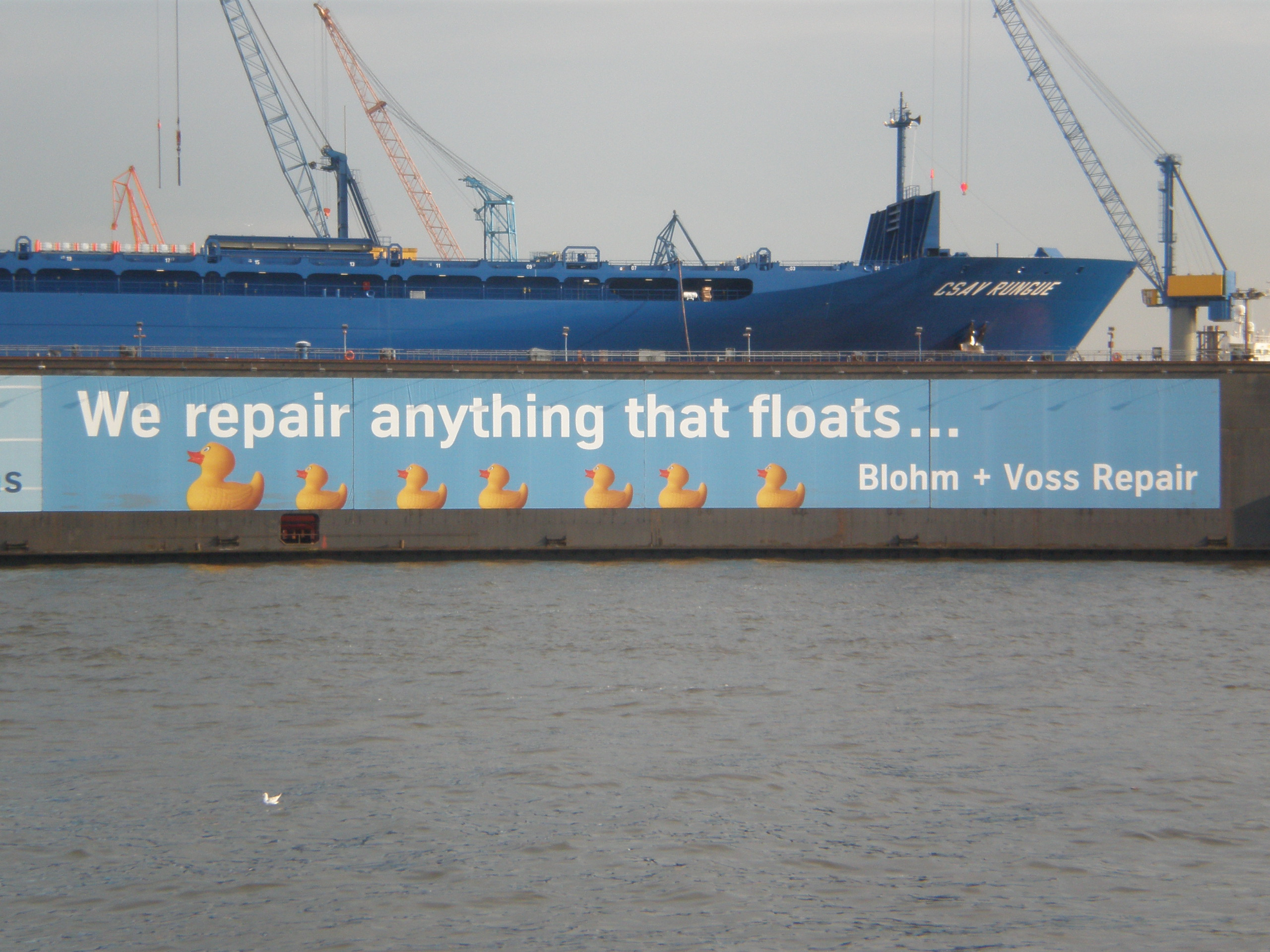We repair anything that floats...