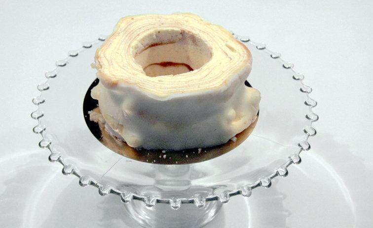 Baumkuchen: vorher.