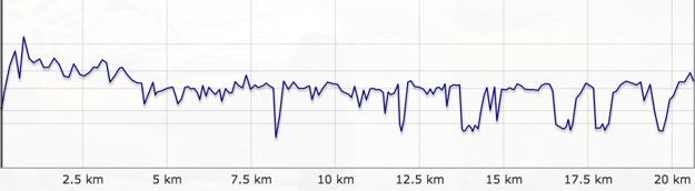 20 km Pace