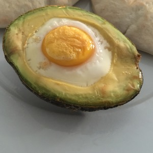 Ei in Avocado