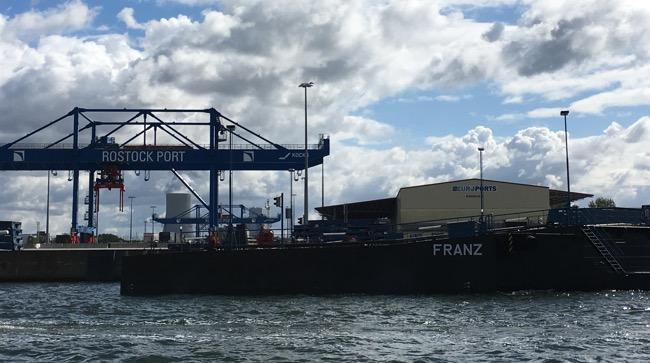 Franz @ Rostock Port
