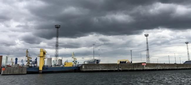 Masten im Hafen