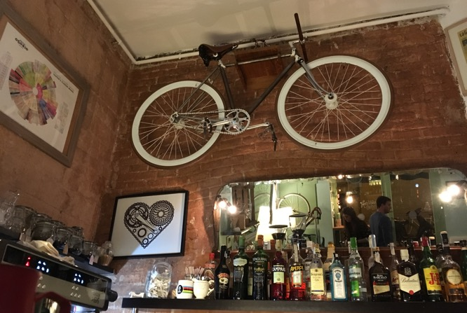 Café Bicioci in Barcelona