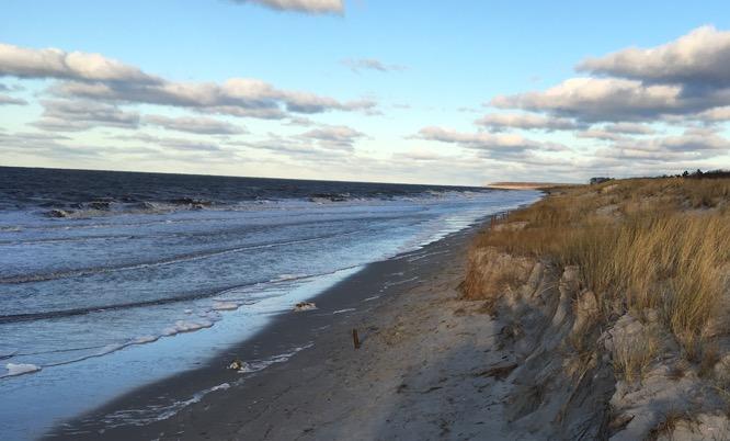 Ostsee ohne Strand