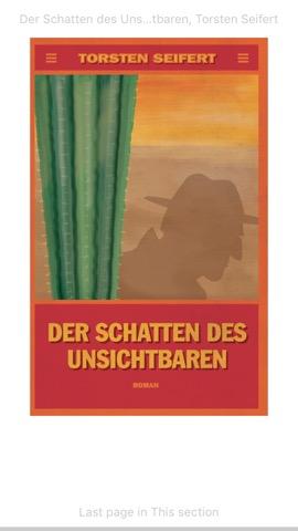 Cover: Der Schatten des Unsichtbaren von Torsten Seifert