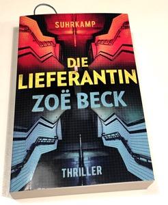 Cover: Zoë Beck – Die Lieferantin
