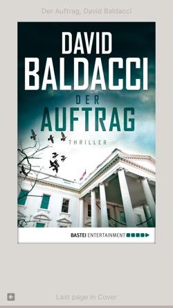 Cover: Der Auftrag von David Baldacci