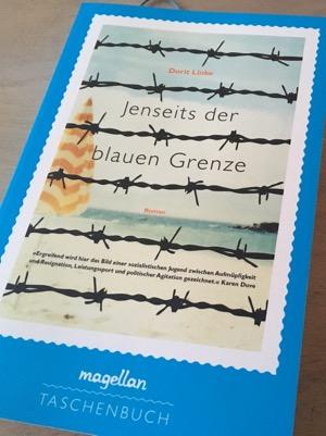 Cover: Jenseits der blauen Grenze von Dorit Linke