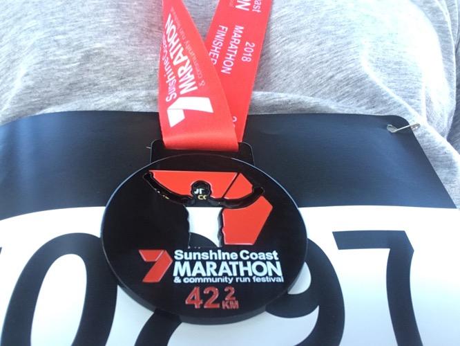 Nach dem Sunshine Coast Marathon