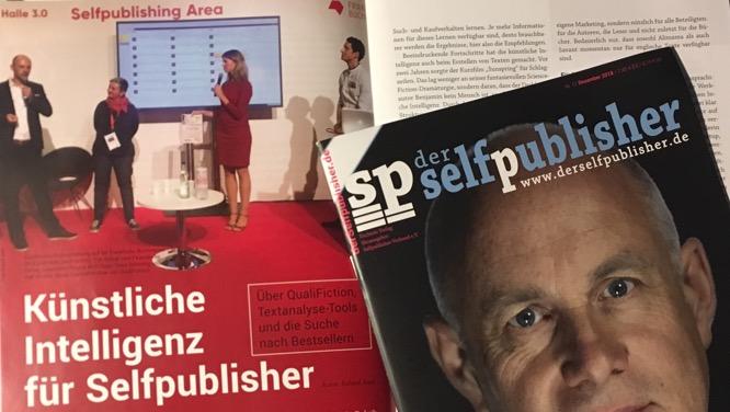 KI für Selfpublisher in der Dezember-2018-Ausgabe des Magazins 'der selfpublisher'