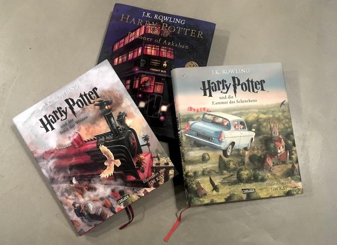 Illustrierte Teile 1 - 3 von Harry Potter