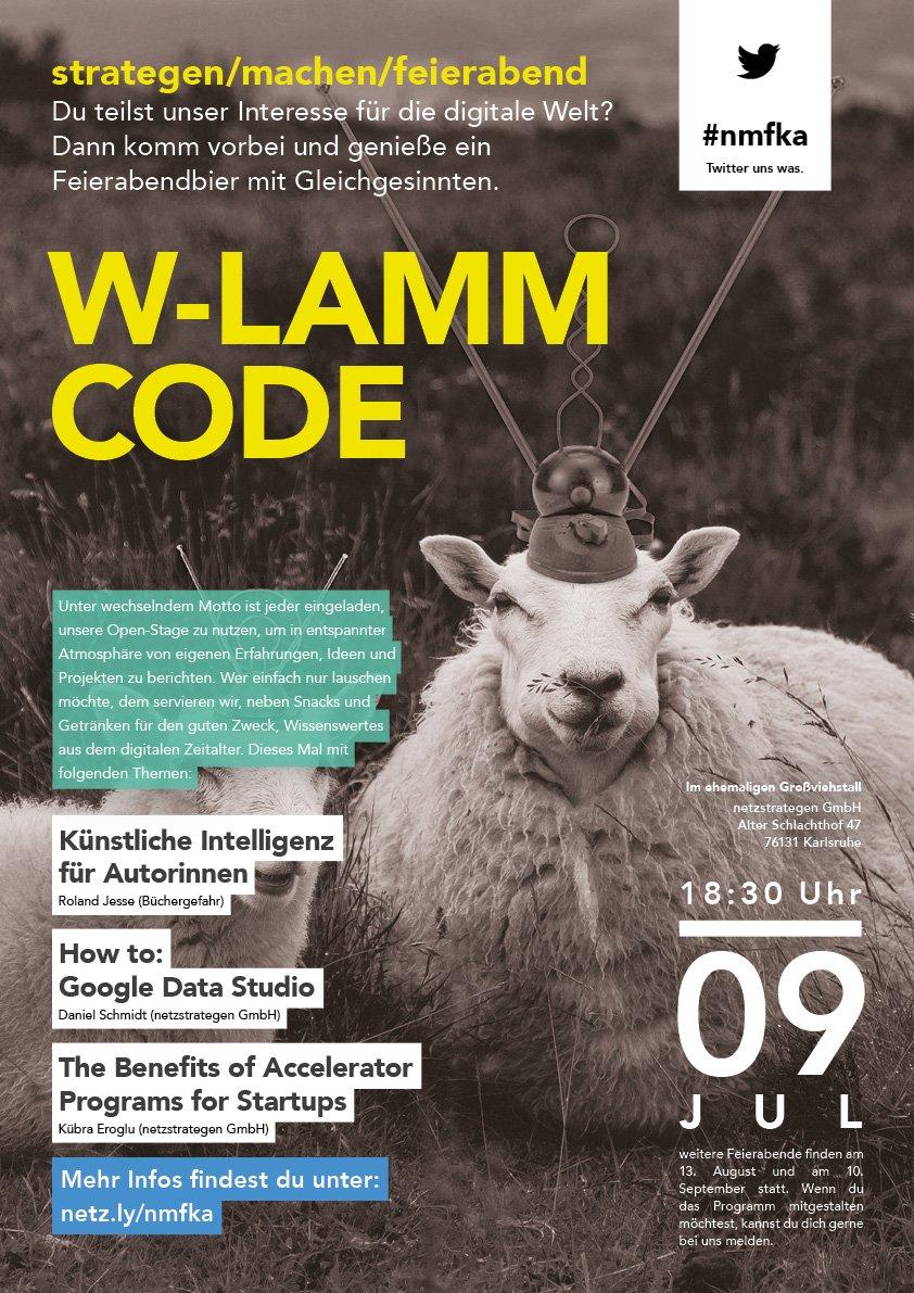 W-Lamm Code bei den Netzstrategen